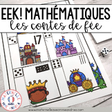 EEK! Jeu de Mathématiques - Dragon (FRENCH Kings & Queens Themed Math Game)