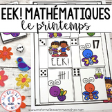 EEK! Jeu de Mathématiques - Filet à papillons (FRENCH Spring Themed Math Game)