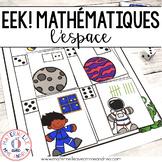 EEK! Jeu de Mathématiques - L'espace (FRENCH Space Themed