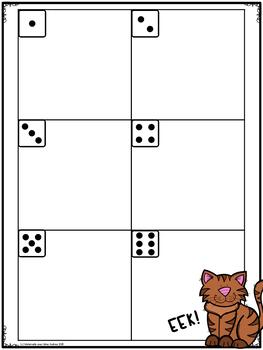 EEK! Jeu de Mathématiques - Les fées (FRENCH Fairy Themed Math Game)