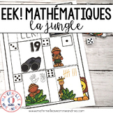 EEK! Jeu de Mathématiques - Lion (FRENCH Safari Themed Math Game)