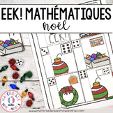 EEK! Jeu de Mathématiques - Noël (FRENCH Christmas Themed Math Game)