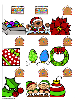 EEK! Jeu de Mathématiques - Noël (FRENCH Christmas Themed Math Game)