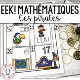 EEK! Jeu de Mathématiques - Pirates (FRENCH Pirate Themed Math Game)