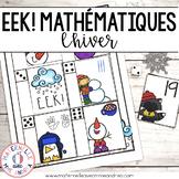 EEK! Jeu de Mathématiques - Tempête de neige (FRENCH Winte