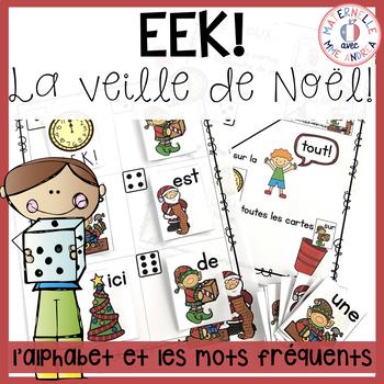 Image De Lettre De Noel.Eek La Veille De Noel Pratiquer Les Noms Des Lettres Et Les Mots Frequents