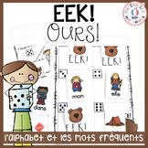 EEK - Ours! Un jeu qui travaille les noms des lettres & le