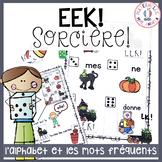 EEK - Sorcière! Un jeu qui travaille les noms des lettres & les mots fréquents