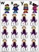 EEK - Vilain! Un jeu qui travaille les noms des lettres/le