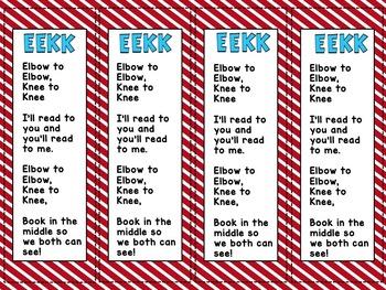 EEKK Bookmark Freebie