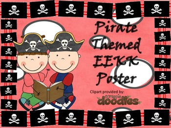 EEKK Poster Pirate Theme