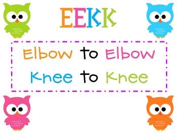 EEKK Poster Set {FREEBIE}