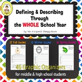 EET Companion Defining Through the WHOLE School Year for Middle and High School