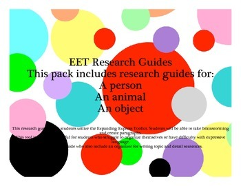 EET Research Guide Pack