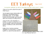 EET Turkey Thanksgiving Craftivity