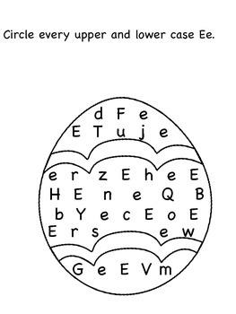 E,F,G,H Letter Search