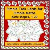 EFL ESL ELD: 54 task cards - basic numeracy, maths