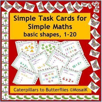 EFL ESL ELD 54 task cards  basic numeracy maths