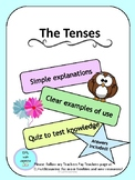 EFL/ESL ENGLISH LANGUAGE TENSES PACK + EXERCISE
