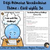 EFL Memory-Challenge - Civil Rights Movement