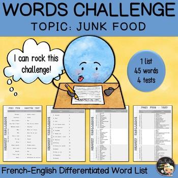 EFL Memory-Challenge - Junk Food