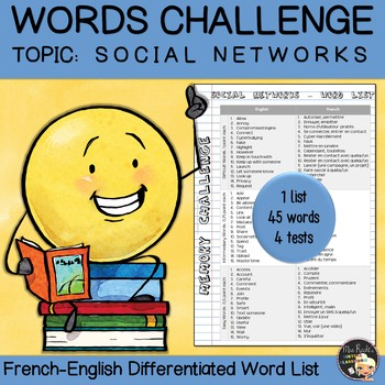 Vocabulary Word List Social Networks