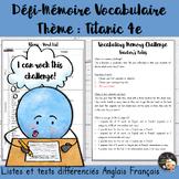EFL Memory-Challenge - Titanic