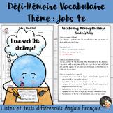 EFL Memory-Challenge - Jobs