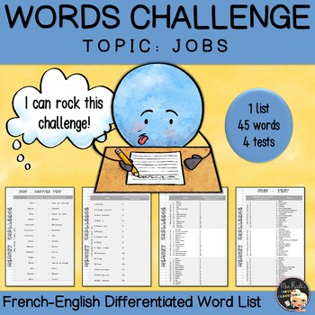 Vocabulary Word List Jobs