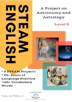 STEM+PBL Greek Myths - What's in the stars? Project (Workbook and Lesson Plans)
