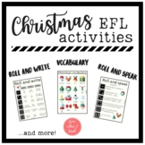 EFL Christmas Speaking and Writing FREEBIE