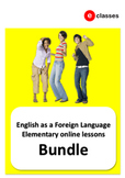 EFL elementary online lessons bundle