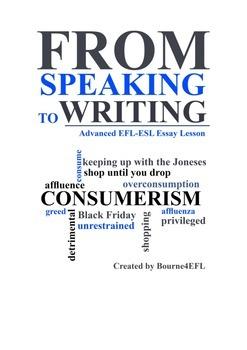 EFL/ESL Essay Lesson: Overconsumption