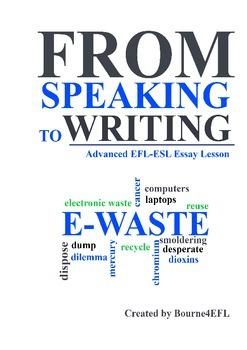 EFL/ESL Essay Lesson about E-waste