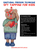 POSTER Emotional Freedom Technique EFT Tapping for Kids Character Education