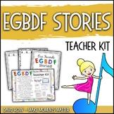 EGBDF Stories:  Creative Writing Activity, Teacher Kit, and more!