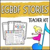 EGBDF Stories:  Creative Writing Activity, Teacher Kit, and more!