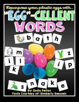 EGG-cellent Words (CVC, CVCC, CCVC, CVCe, consonant blends, silent e, digraphs)