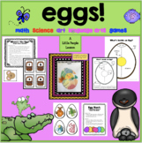 EGGS AND WHAT COMES OUT OF THEM:  Science, Math & Language