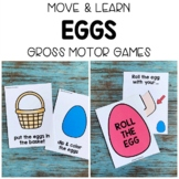 EGGS Move & Learn Gross Motor Games - Preschool, Pre-K, & Kinder