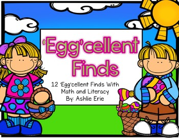 'EGG'cellent Finds Math and Literacy