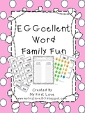 EGGcellent Word Family Fun