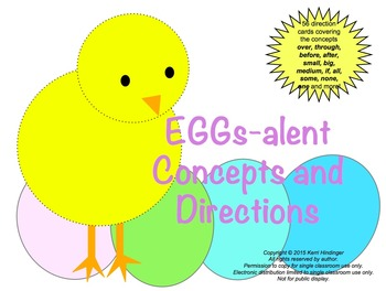 EGGs-alent Listening Skills with Concepts & Directions