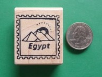 EGYPT Country/Passport Rubber Stamp