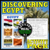 EGYPT: Discovering Egypt Activity Pack