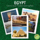 EGYPT:  Learning Materials, Activity Pages and Cards