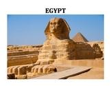 EGYPT UNIT (GRADES 4 - 8)