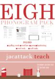 EIGH Phonogram Pack (Spalding Based)