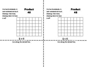 EIGHTS Multiplication Fact Fluency Flip Book: Grades 3-5