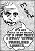 EINSTEIN Growth Mindset Quotes Coloring Pages Coloring Doodles!